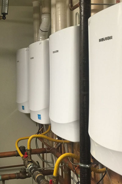 Tankless Water Heater Installation in Portsmouth VA by Newman's Plumbers